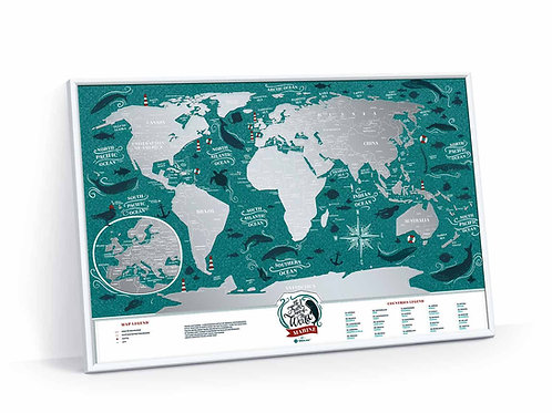 Travel Map Marine World