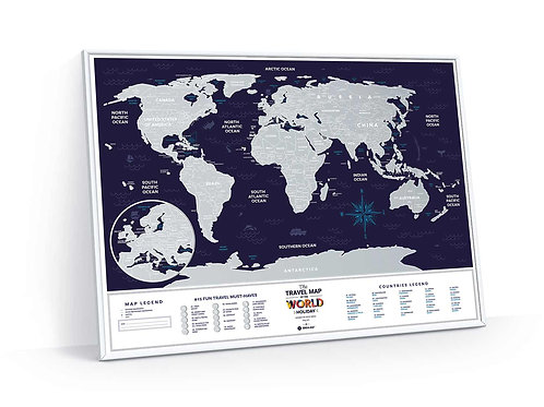 Travel Map Holiday World