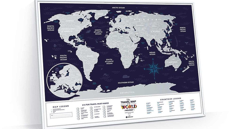 Travel Map Holiday World