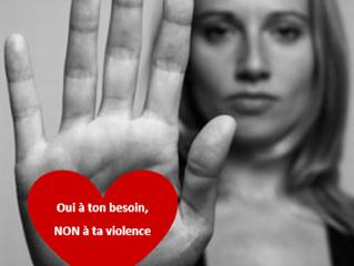 Non-violence ne signifie pas passivité...