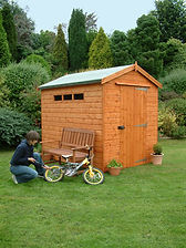 Security Apex shed