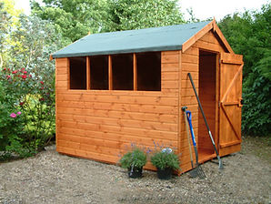 The Popular Apex shed