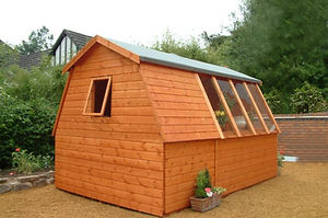 The Sun Trap Cobination shed