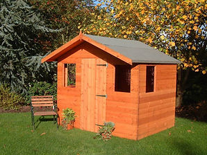 The Popular Hobby shed