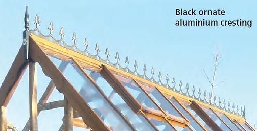 Black ornate aluminium cresting.jpg