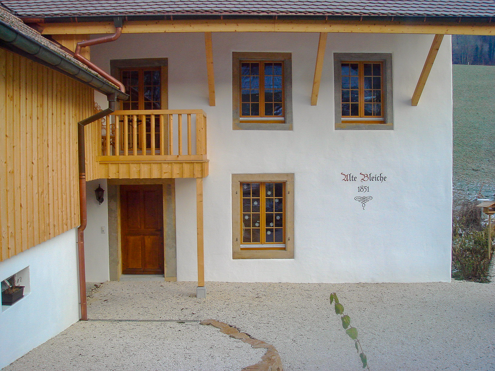 Einfamilienhaus rustikal