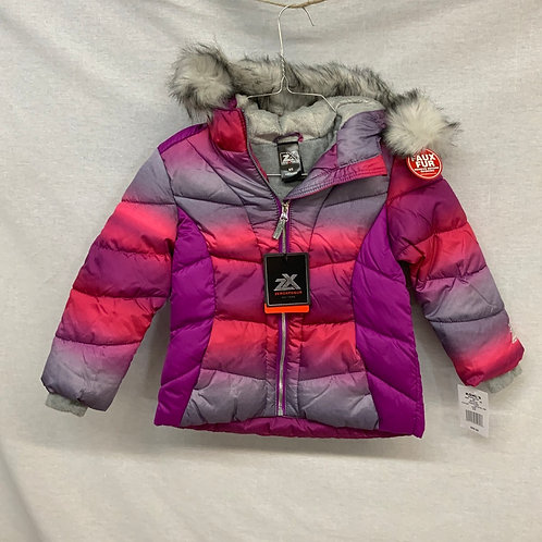 Girls Winter Jacket - Size XS (4/5)
