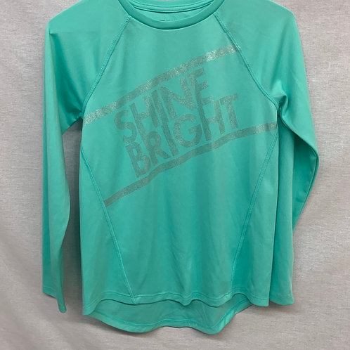Girls Long Sleeve Shirt - L (14)