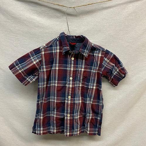 Boys Short Sleeve Shirt - Size XS 4-5