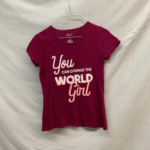 Girl's Short Sleeve Shirts Size: 16