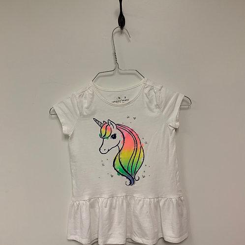 Girls Short Sleeve Shirt - Size 5