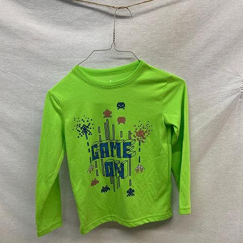 Boys Long Sleeve Shirt - Size 4-5