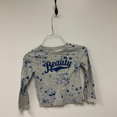 Girls Long Sleeve Shirt - Size S 5-6