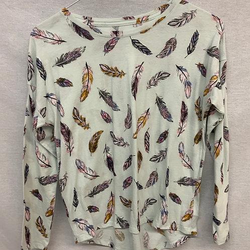 Girls Long Sleeve Shirt - Size L (10-12)
