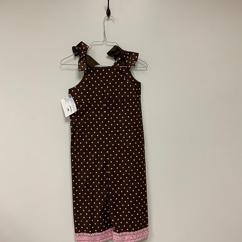 Girls Pants Overalls- Size 5 S