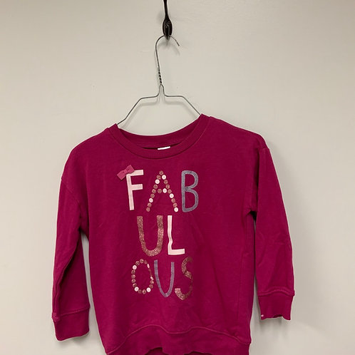 Girls Long Sleeve Shirt - Size 5-6