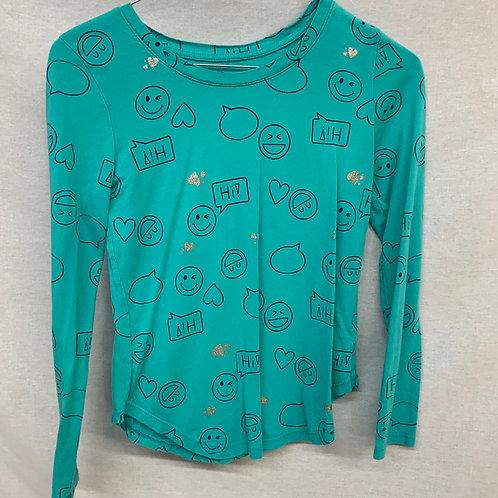 Girls Long Sleeve Shirt - L (12)
