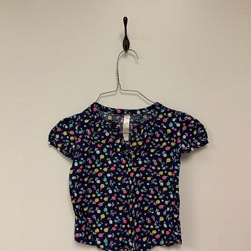 Girls Short Sleeve Shirt - Size 5T
