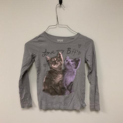 Girls Long Sleeve Shirt - Size 7 (M)