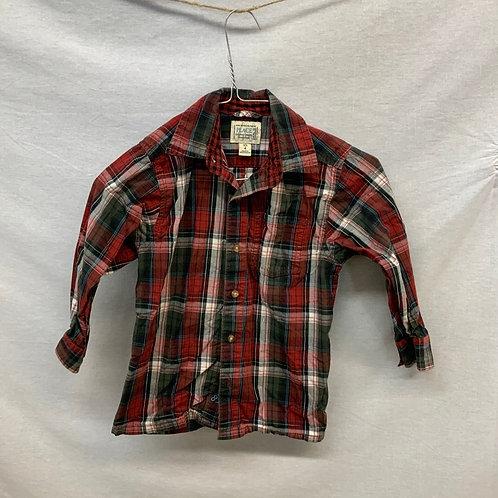 Boys Long Sleeve Shirt - Size 4