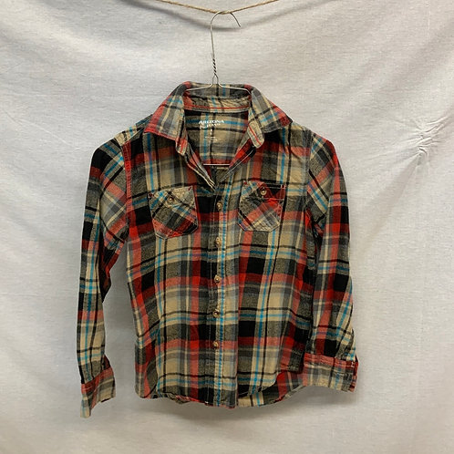 Boys Long Sleeve Shirt - Size 8