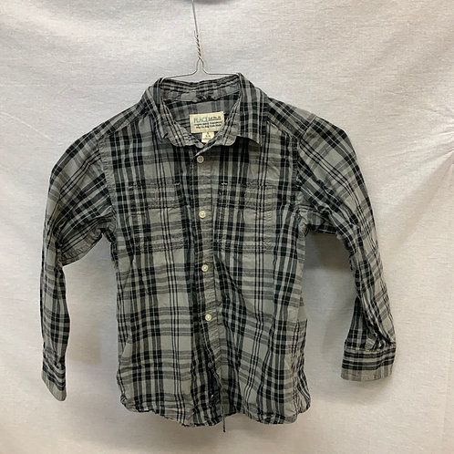 Boys Long Sleeve Shirt - Size 5-6
