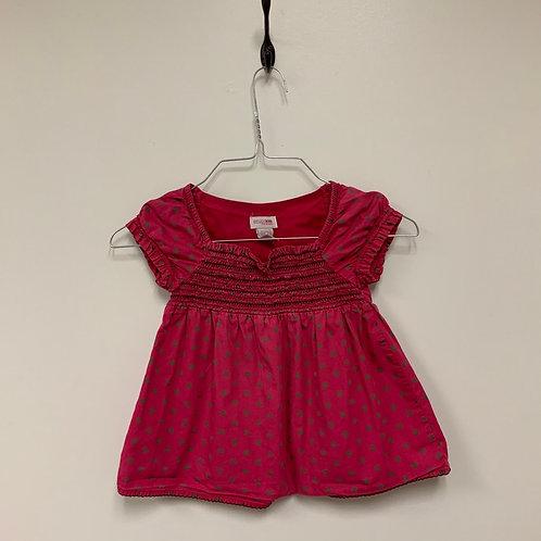 Girls Short Sleeve Shirt - Size 5T S