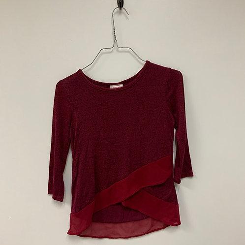 Girls Long Sleeve Shirt - Size 10-12
