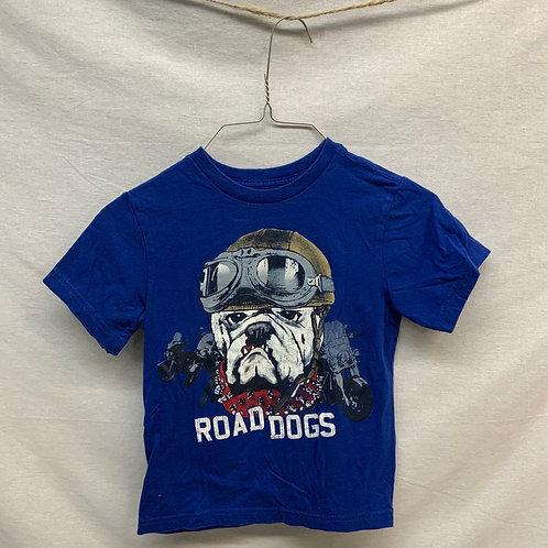 Boys Short Sleeve Shirt - Size 5/6