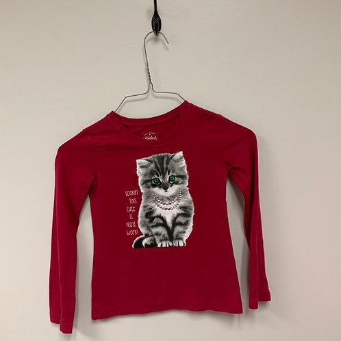 Girls Long Sleeve Shirt - Size 4-5