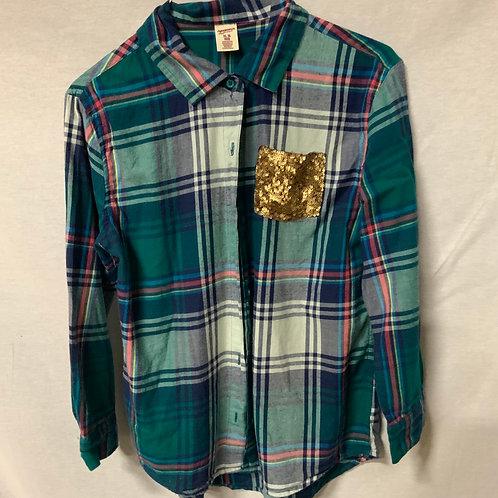 Girls Long Sleeve Shirt - XL (16)