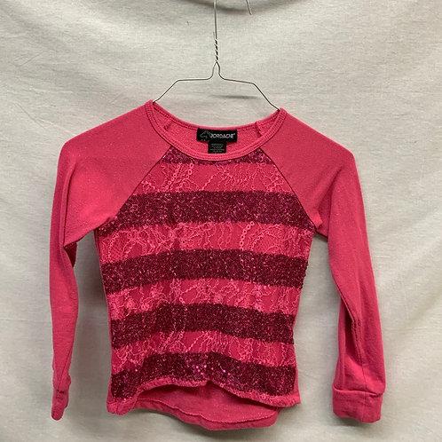 Girls Long Sleeve Shirt - Size 6-6x