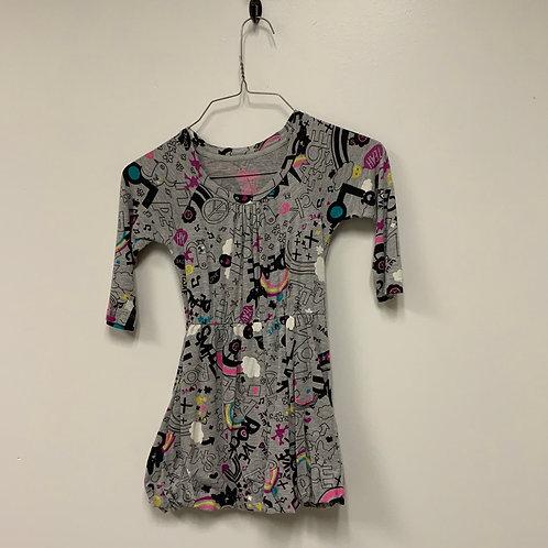 Girls Dress - Size S 6-6X