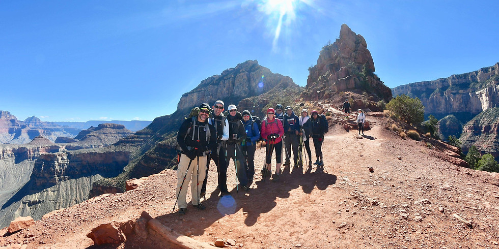 3 Day Grand Canyon Backpacking Trip