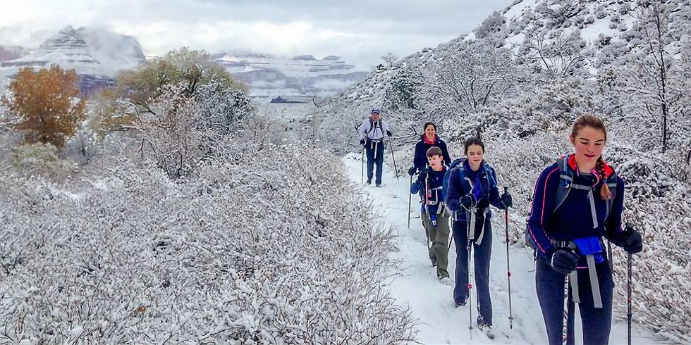 3 Day Grand Canyon Winter Backpacking Trip - January 17th