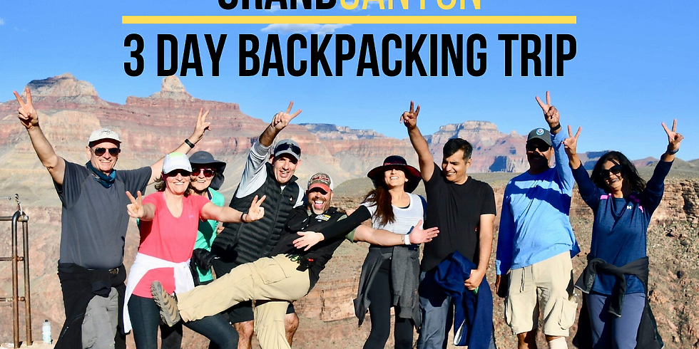 3 Day Grand Canyon Backpacking - October 2020