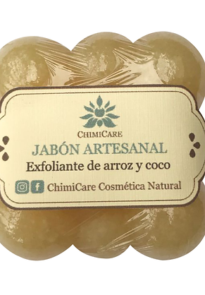 EXFOLIANTE DE GLICERINADE ARROZ Y ACEITE DE COCO