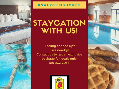 JOIN US FOR A LOCAL #STAYCATION