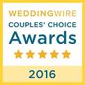 Weddingwire couple's choice awards 2016.