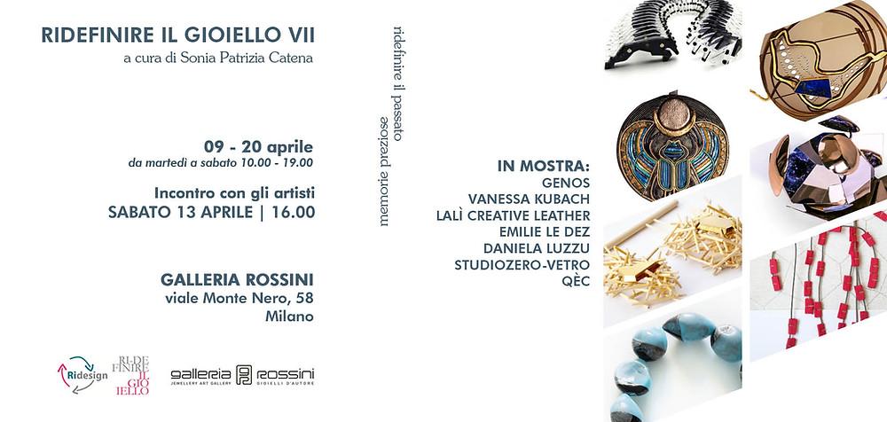 Ridefinire il Gioiello in Galleria Rossini