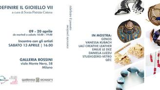 I gioielli vincitori del Premio Rossini in mostra al Fuorisalone