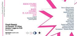 Invito-Ridefinire Cose 2017
