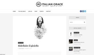 Italian Grace nuovo media partner di Ridefinire il Gioiello