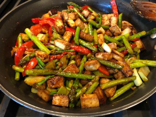 Allergy Friendly Tofu Stir Fry