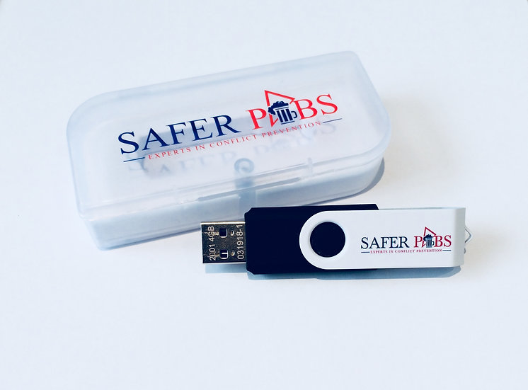 Safer Pubs USB Film Training Stick -