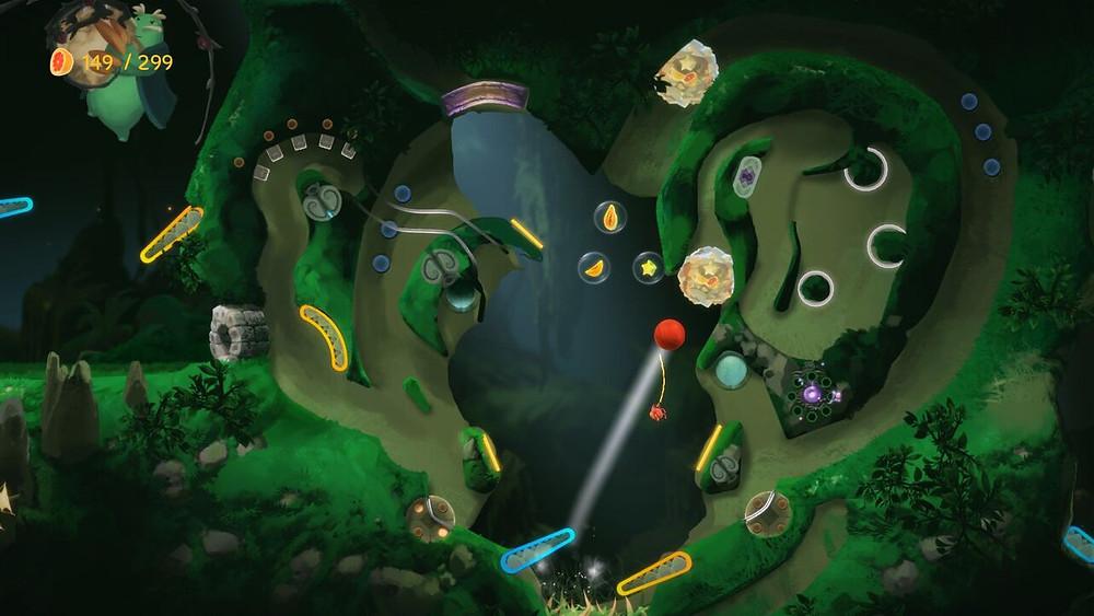 Yoku's Island Express Pinball