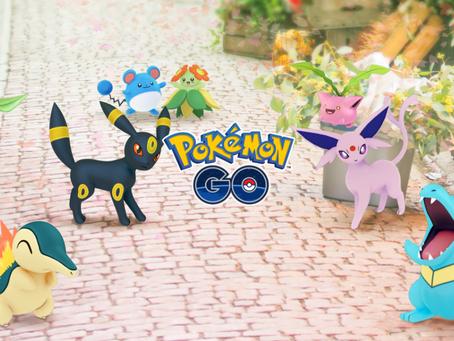 pokemon go update adds johto pokemon