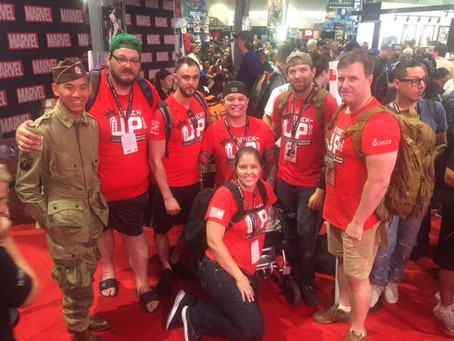 Air Assaults – Stacking Up with Six Foot at SDCC!