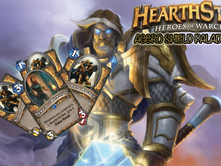 hearthstone standard aggo shield paladin deck strategy guide
