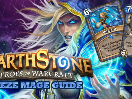 hearthstone freeze mage deck strategy guide
